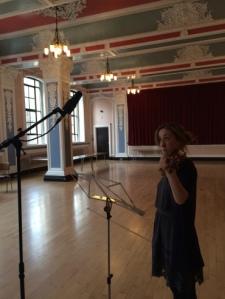 Recording At Caird Hall